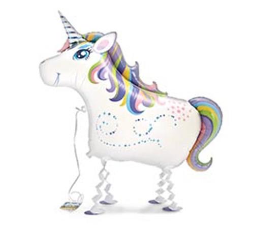 Unicorn ~ My Own Pet Air Walker Mylar Balloon
