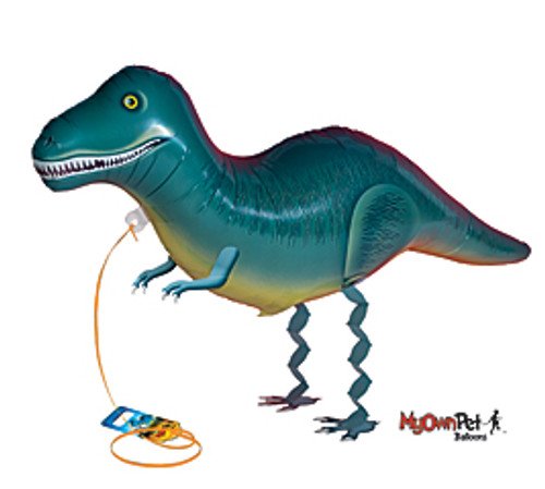 Trannosaurus Rex ~ My Own Pet Air Walker Mylar Balloon