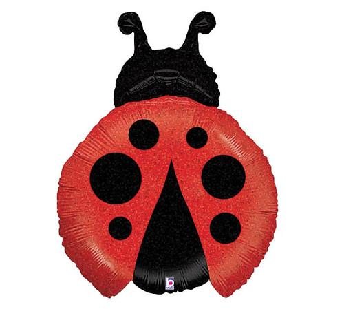 Lady Bug Super Shape Mylar Balloon