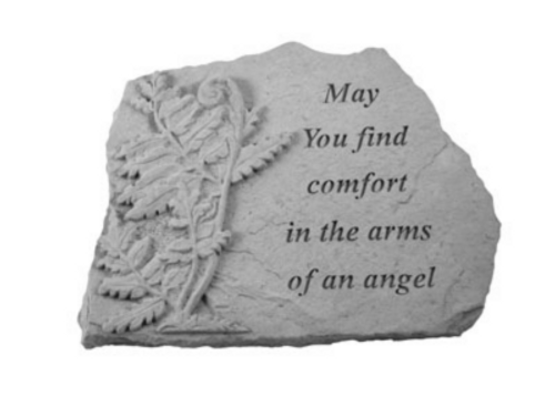 May you find.. W/Fern...Memory Stone