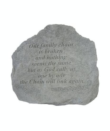 Our Family Chain is Broken... Memory Stone