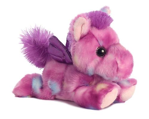 Tutti Frutti the Small Stuffed Pink Unicorn Bright Fancies by Aurora