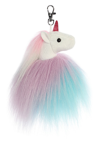Aurora Sparkle Tales - Tickle Unicorn Keyclip 5in