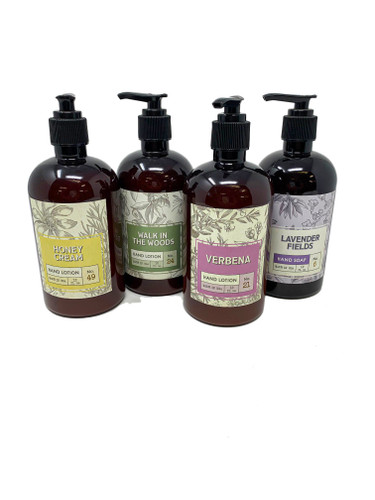 12 oz Hand Lotion by Flaire & Creative Coop
