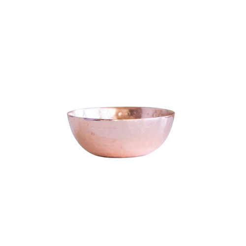 "3""Round Hammered Metal Bowl by Creative Co-op"