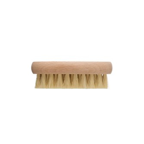 "4"" Tampico & Beech Wood Vegetable Brush, Natural by Creative Co-op"
