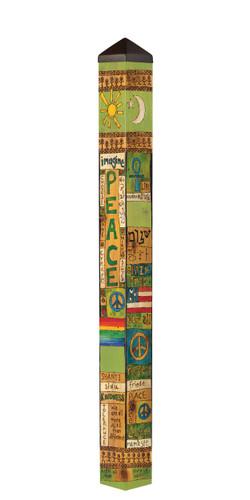 "Peace and Harmony 60"" Art Pole by Studio-M"