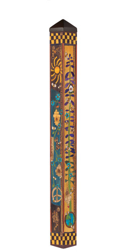 "Bees for Peace 60"" Art Pole by Studio-M"