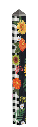"Autumn Blooms 60"" Art Pole by Studio-M"