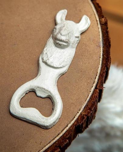 Cast Iron Llama Bottle Opener