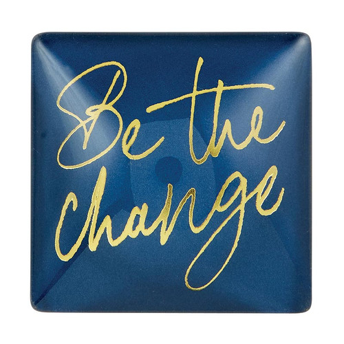 """Be The Change"" Magnet by Heartfelt"