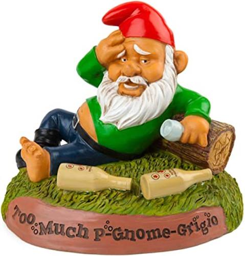 Hungover Garden Gnome