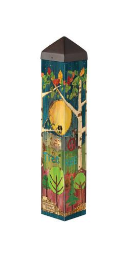 "Trees  20""  Art Pole"