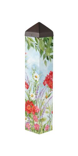 """Summer Garden  20""""  Art Pole"""