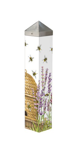 "Beehive  20""  Art Pole"