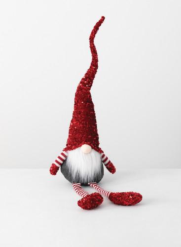 Shelf Sitter Sequin Gnome