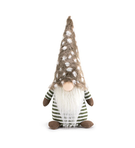 "14"" Woodland Brown Gnome"