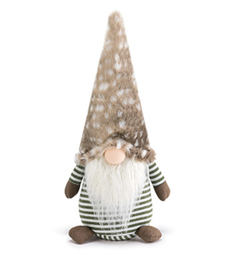 "18"" Woodland Brown Gnome"