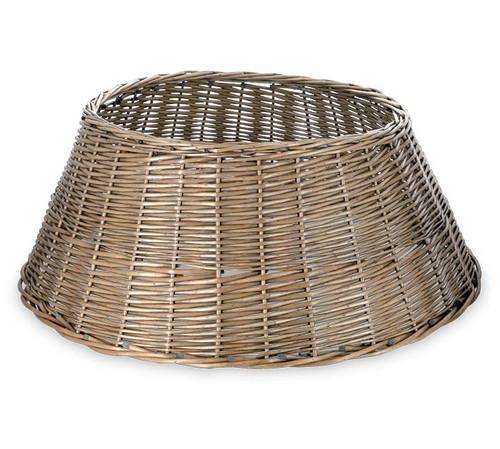 Large Willow Buff Gray Tree Basket