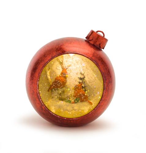 """6"""" Cardinals Ornament W/6HR Timer"""