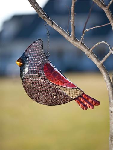 Cardinal Seed Feeder