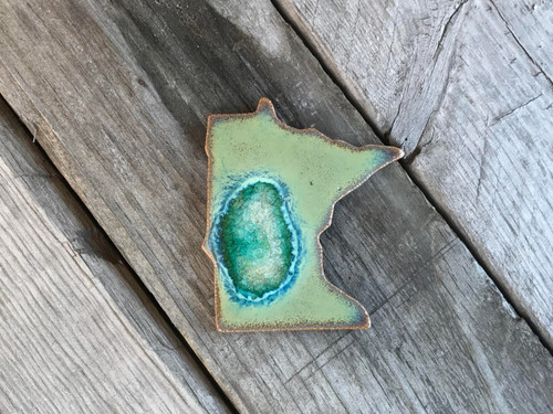 Minnesota Ceramic Magnet by Dock 6