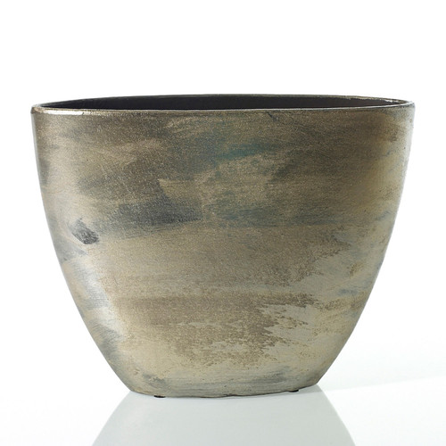 Zelda Boat Pot - Bronze - 2 Sizes
