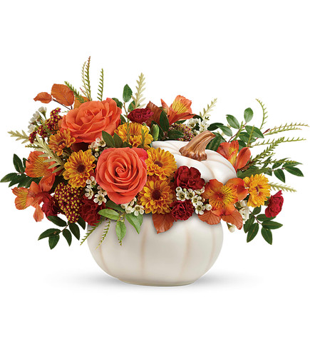 Enchanted Harvest Pumpkin  Bouquet