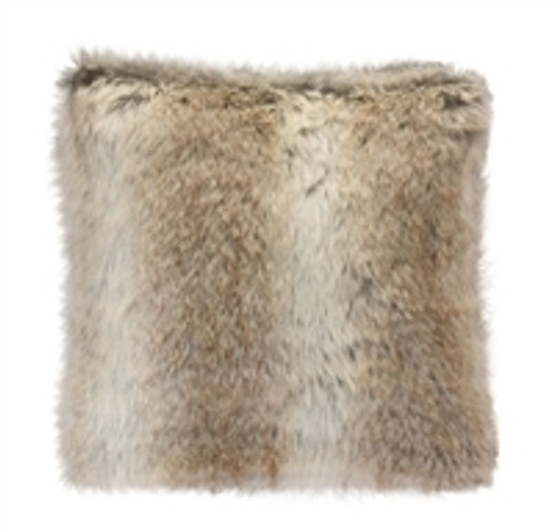 "17"" Faux Fur Pillow"