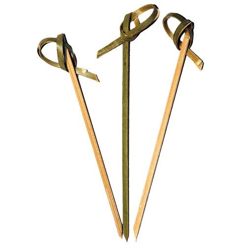 """4"""" Bamboo Appeitizer Picks - Pack of 50"""
