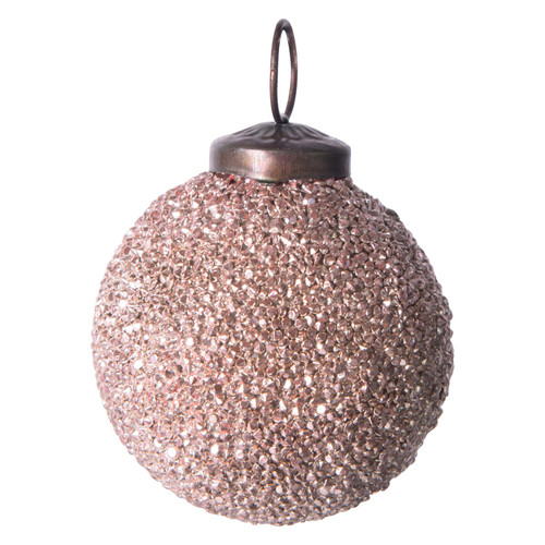 "2"" Round Glass Ball Ornament"