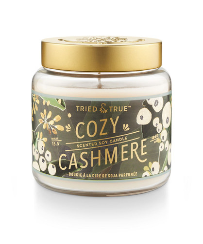 Tried & True Cozy Cashmere Large Jar Candle