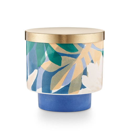 """Citrus Crush Lidded Ceramic """"Go Be Lovely""""  Candle by Illume"""