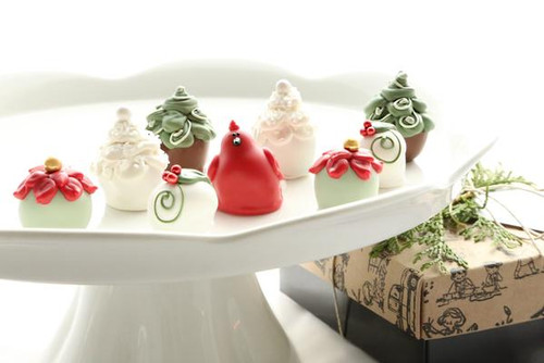 Cordial Cherries ~ 9-Piece Gift ~ Christmas Garden by The Cordial Cherry