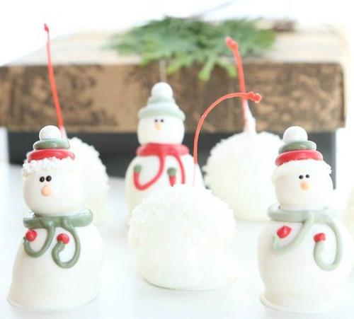 4-Piece Snowmen Cordial Cherries and Snowballs