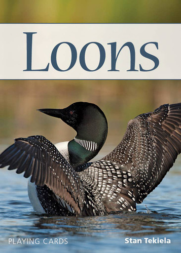 Minnesota State Bird ~ Loons ~ Playing Cards