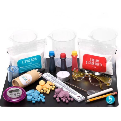 Girls Discover Science ~ Foundation Chemistry Kit: Beakers & Bubbles Educational Kit ~ Kids 8-12