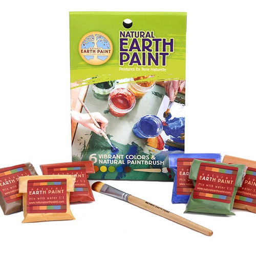 Petite Natural Earth Paint Kit