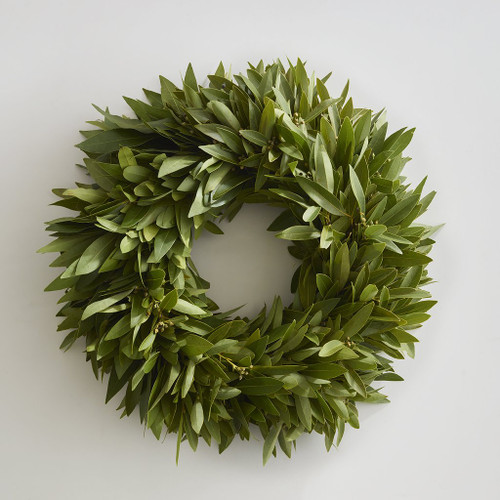 """20"""" Bay Leaf  Wreath"""