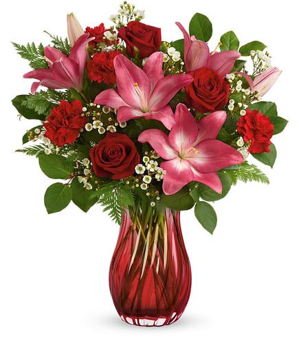 Enamored Elegance Bouquet