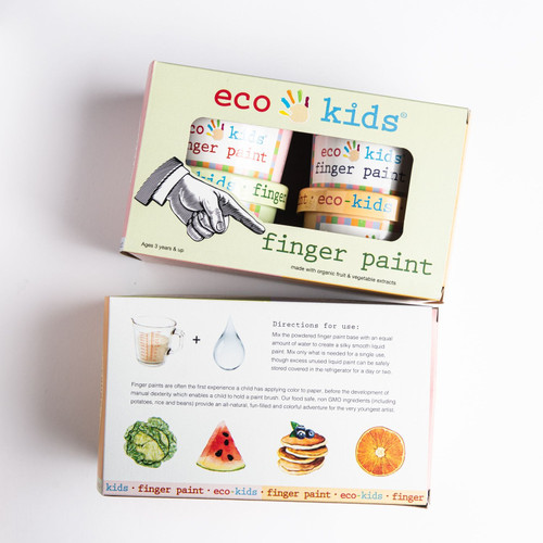 Eco-Finger Paint by Eco-Kids