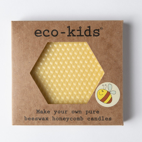 Beeswax Honeycomb Candle Kit by Eco-Kids