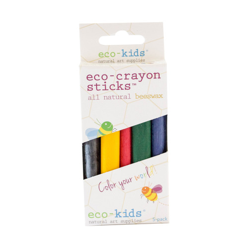 Eco-Crayon Sticks 10 pack by Eco-Kids