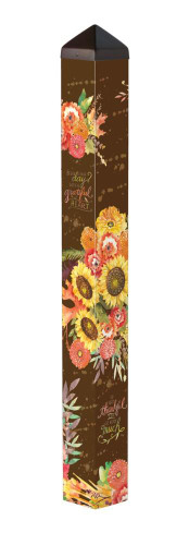 "Grateful Bouquet 40"" Art Pole"