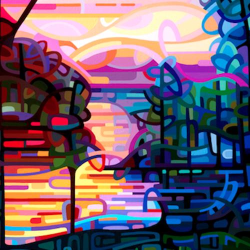 Awakening, 1000-pc Velvet-Touch Jigsaw Puzzle; Art by M. Budan
