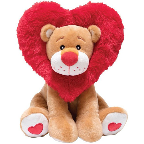 Lionheart Plush Lion - Animated and Singing Lion