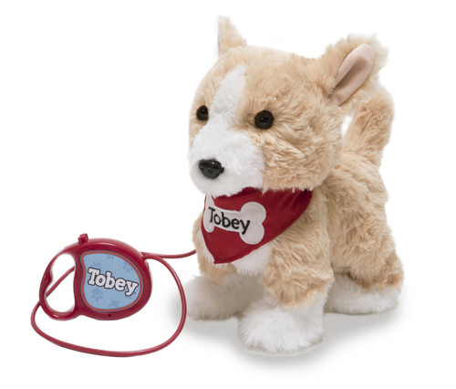 """Tobey""  by Enchanted Pets- Walking Plush"