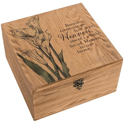 """""""Heaven"""" Keepsake Memory Box"""