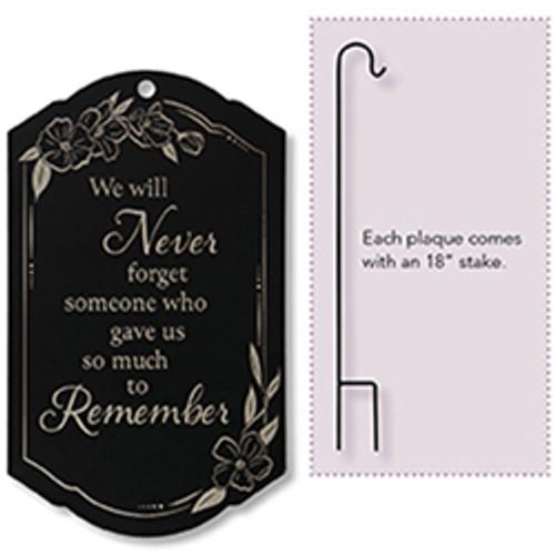 """To Remember"" Memorial Stake"