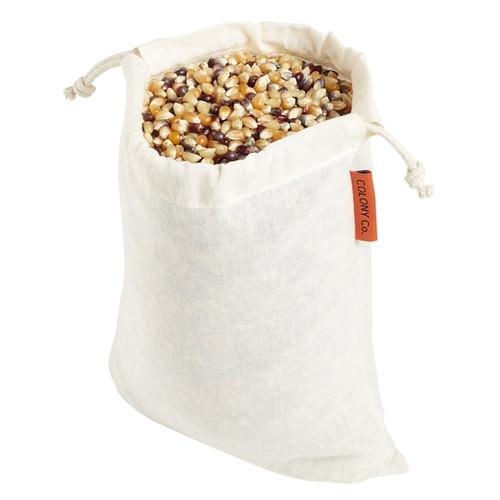 Small Reusable Bulk Food Bag - Cotton Muslin